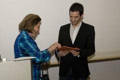 Preisträger mit Stifterin