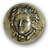 Vorderseite der Ritter-von-Spix-Medaille