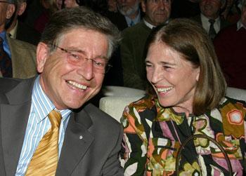 Frau Elisabeth Hintelmann und der Staatsminister Dr. Thomas Goppel