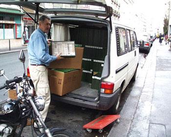 Verpacken der Herbulot-Sammlung